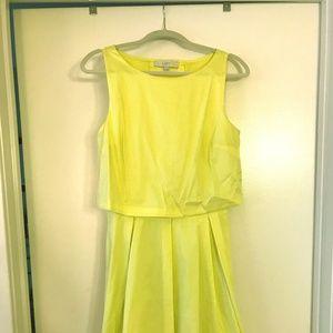 Ann Taylor Loft Yellow Sundress